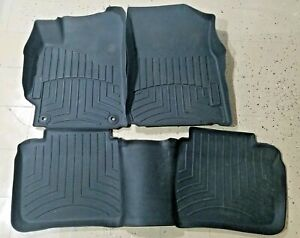 Weathertech All Weather Floor Mats For Toyota Camry 2012 2014 Black Custom Fit