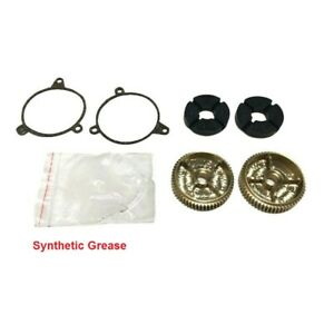 97 99 Corvette C5 Headlight Motor Repair Kit W Brass Gear Lh Rh Grease Gasket