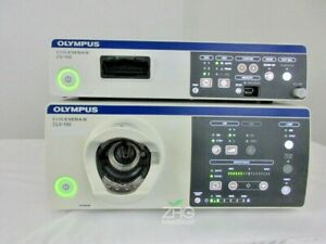 Olympus Cv190 Video System Center And Clv 190 Light Source Excellent Condition