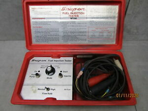Snap On Fuel Injection Tester Mt290