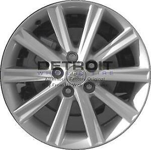 17 Toyota Camry Wheel Rim Factory Oem 69603 2012 2014 Silver
