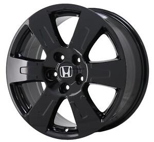 18 Honda Ridgeline Wheel Rim Factory Oem 64105 2014 2019 Gloss Black