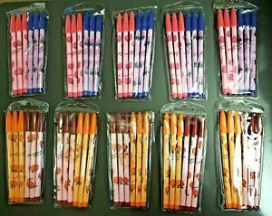 60 Fruit Theme Scented Non Sharpening Pencils 10 Packs Of 6 Lead Back Refill Nip