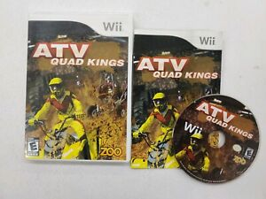 ATV: Quad Kings - Nintendo  Wii Game Complete Free Fast Shipping