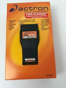Actron Diagnostic Code Reader Scanner Cp9001 For 1982 1993 General Motors Nib