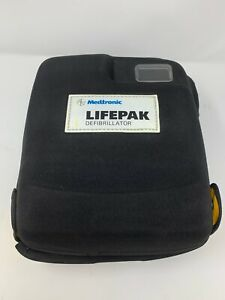 Physio Control Lifepak 1000 Defibrillator Soft Shell Carrying Case Used
