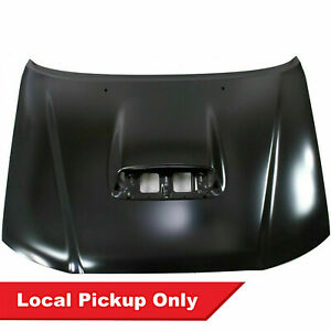 New Primed Steel Hood W Scoop For 2005 2011 Toyota Tacoma To1230201 5330104170