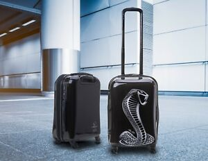 Shelby Carbon Fiber Design Carry On Luggage