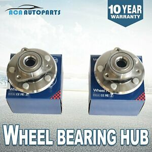 2 Front Wheel Hub Bearing Assembly For 2002 2008 Dodge Ram 1500 2wd 4x4 4wd