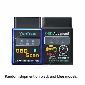V0056 Obd2 Obdii Elm327 Bluetooth Vehicle Diagnostic Scan Tool B For Android Gps