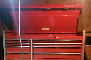 1993 Snap On Tools Kr 791 Top Chest Free Freight To Business