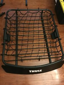 Thule Moab Cargo Carrier Basket refurbished New Thule Stretch Net Included