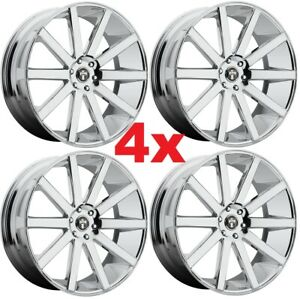 22 Chrome Wheels Rims 5x114 3 5x4 5 Dub Asanti Lexani Forgiato