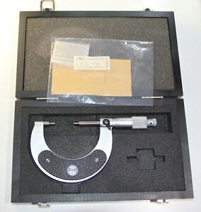 Mahr Micrometer 40 Sb With Reduced Measuring Face 25 50 Mm 0 01 Mm