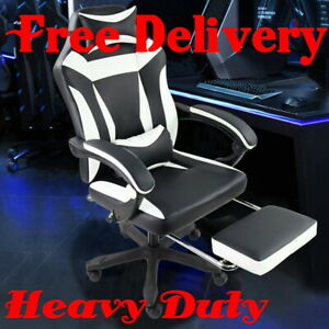 Heavy Duty High Back Executive Computer Desk Chair Office Ergonomic Gaming Game