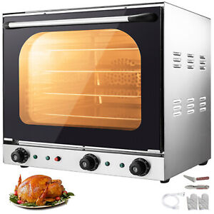 Commercial Convection Oven 60l 2 12 Cu ft 2600w Toaster Oven Multifunction Oven