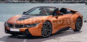 Bmw I8 Roadster Grey Indoor Fabric Car Cover 2014 19 New