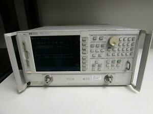 Hp 8719d Microwave Vector Network Analyzer 13 5 Ghz Opt None