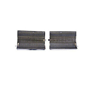 Grille 1986 1986 Oldsmobile Chrome Silver 2 Piece Left Right 4562 050 861p