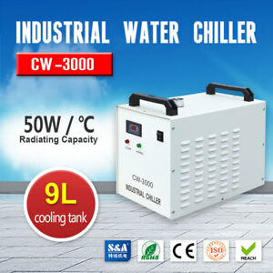 110v 60hz Cw 3000dg Industrial Water Chiller For 60w 80w Co2 Laser Tube Usa