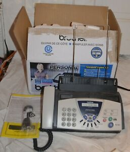 Brother Fax 575 Personal Plain Paper Fax Phone And Copier W Box