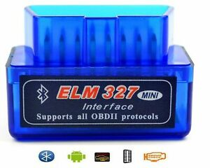 Elm327 V1 5 Bluetooth Torque Android Obd2 Scanner Adapter Obdii Diagnostic Tool