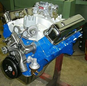 Ford Big Block 428 Fe 480 Horse Crate Engine Pro built New 360 390 408 427