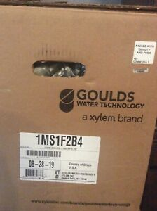 Goulds Electric Water Pump 1ms1f2b4 Mcs Series Centrifugal Pump Size 1 X