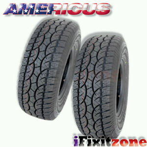 2 Americus At 255 70r16 111t All Terrain Performance Tires