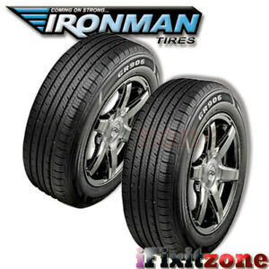 2 New Ironman Gr906 215 60r15 94h All Season M s Rated High Performance Tires