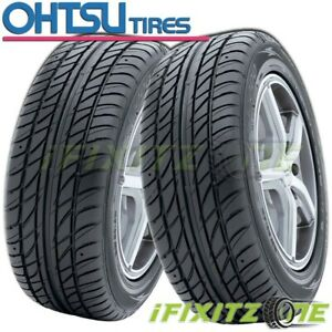 2 New Ohtsu Fp7000 By Falken 245 50r16 97h High Performance All Season Tires