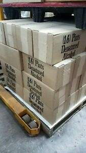 150 Cases Of Denatured Alcohol Pint Size Cans