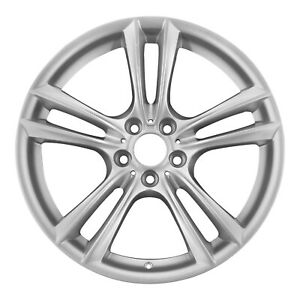 20 Bmw 5 Gt 7 Series Oem Silver Wheel Rim Style 303 Front 71379