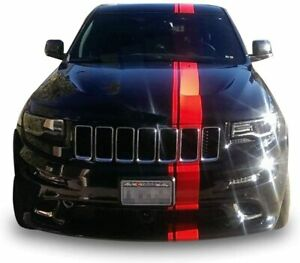 Sticker For Grand Cherokee Jeep Decal Stripe Kit Mirror Graphics Roof Srt8 Hood