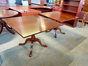 Dining Room conference Room Table By Kittinger In Mahogany 42 x42