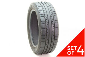 Set Of 4 Used 225 50r17 Michelin Premier As 94v 7 5 32