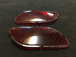 1940 Lincoln Zephyr New Reproduction Taillight Lenses