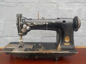 Industrial Sewing Machine Singer 112 145 Two Needle leather