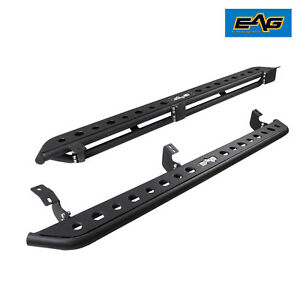 Eag Rock Sliders Running Boards Fit 05 18 Tacoma Double Cab
