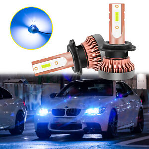 8000k Led Headlights High Beam Drl Light Bulbs For Bmw F30 F31 F48 E90 E91 E60