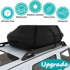 Car Roof Top Carrier Bag Rack Waterproof Storage Luggage Cargo Waterproof Xl