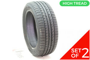Set Of 2 Driven Once 225 50r17 Goodyear Assurance Comfortred Touring 94v