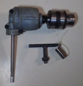 Vintage Right Angle Drive Drill Chuck Attachment 1 20 Ratio