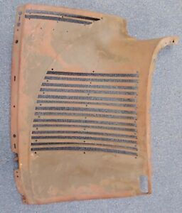 1940 Plymouth Radiator Grille Shell Side Panel New Old Stock 875430