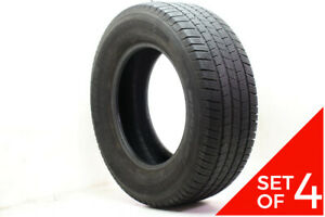 Set Of 4 Used 275 65r18 Michelin Defender Ltx M S 116t 5 5 6 32