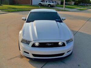 2013 2014 Ford Mustang 3 Inch Cowl Style Functional Heat Extractor Hood