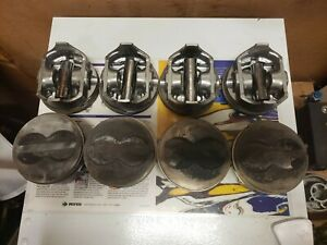 Federal Mogul Speed Pro H616cp30chevy 400 Flat Top Pistons