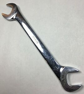 Vintage Snap on Tools Vs22 11 16 Chrome Four Way Open End Angle Wrench Tool Usa