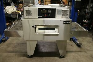 Doyon Fc2g Gas Jet air Single Stack Conveyor Pizza Oven