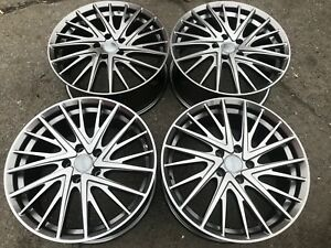 18 Gunmetal Anthracite Wheels Rims Gray Grey